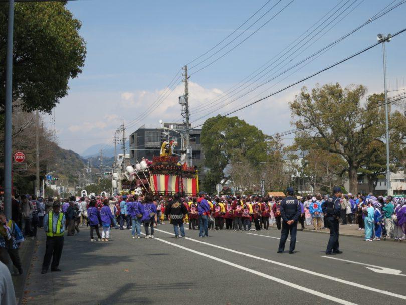静岡市内の祭
