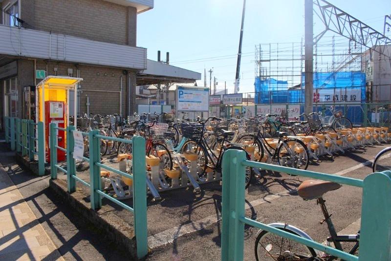 三島田町駅駐輪場
