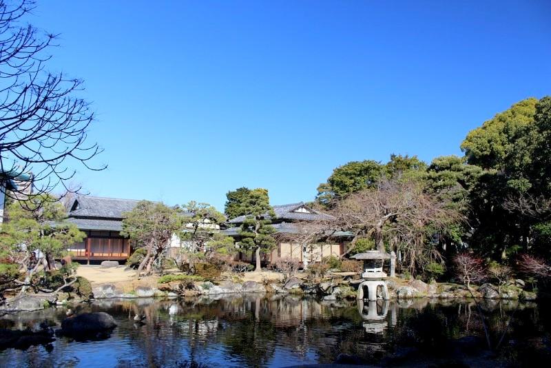 佐野美術館 庭園