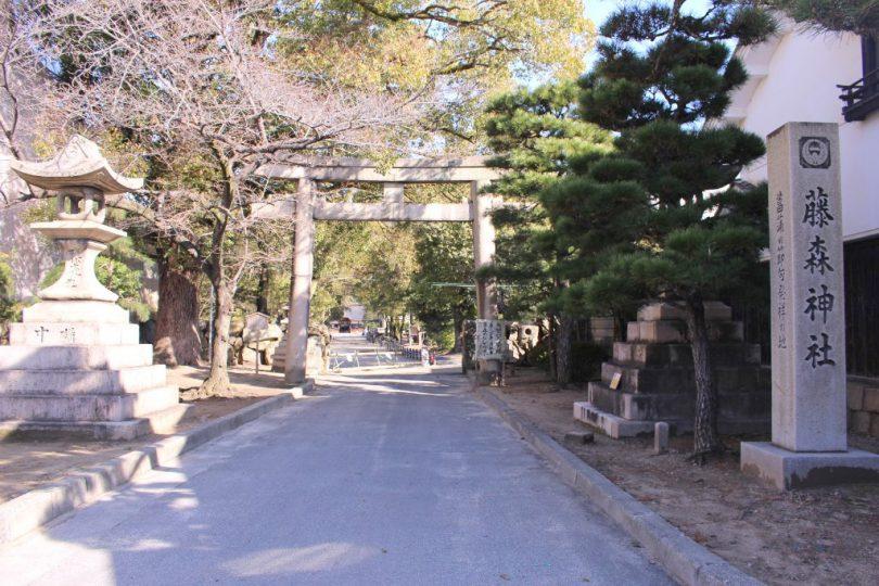 京都刀剣御朱印巡り_藤森神社