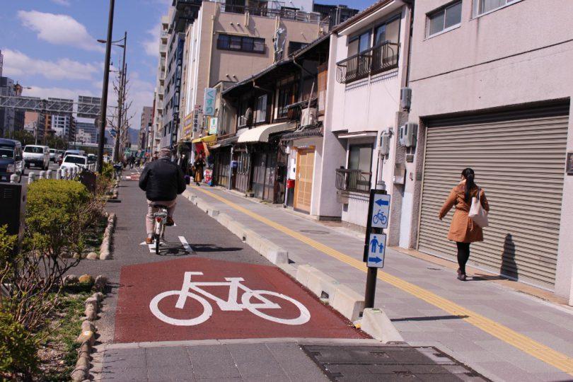 京都自転車レーン