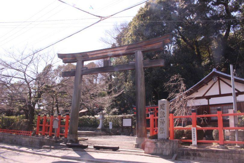 京都刀剣御朱印巡り_建勲神社