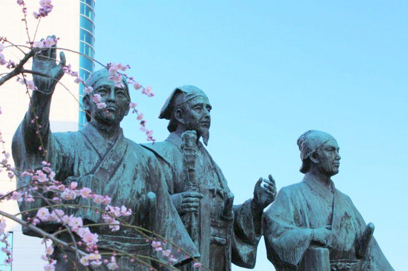 水戸駅前 黄門像