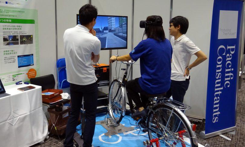 VRを使った自転車シミュレータ