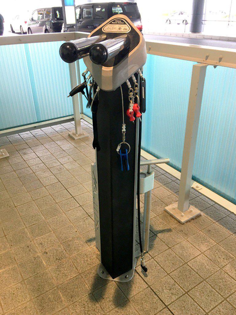 広島空港サイクルハブ03