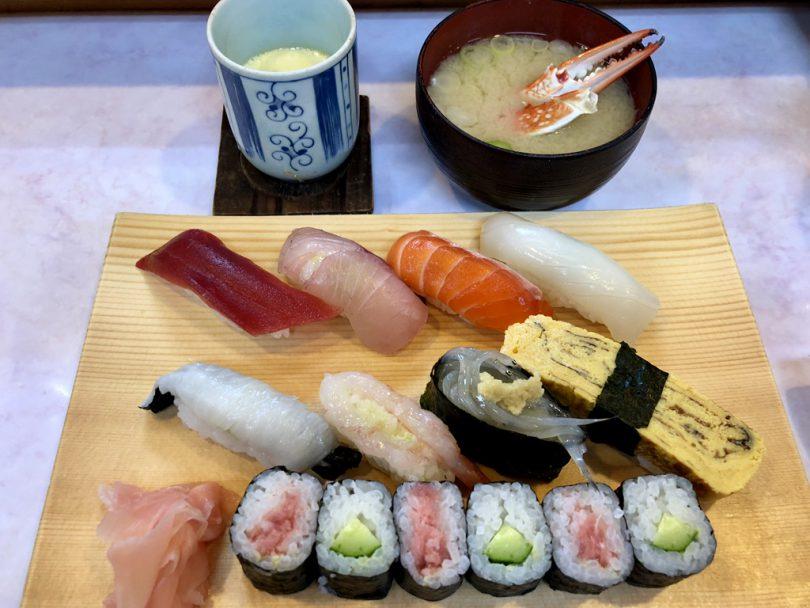 第二ひさご寿司1000円ランチ
