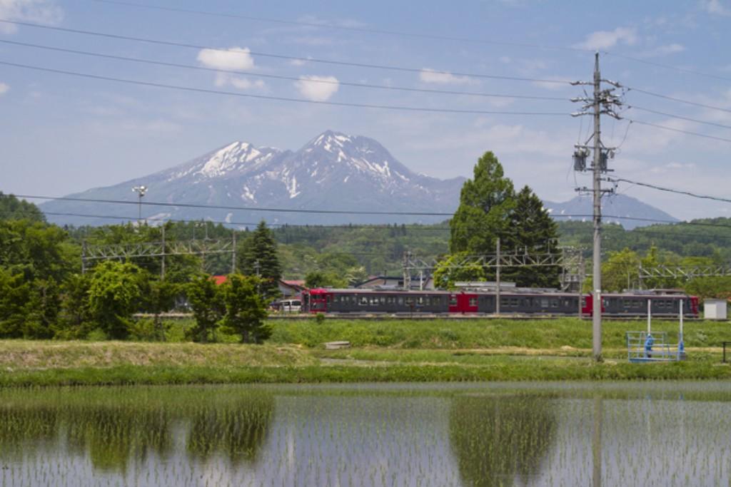 妙高山としなの鉄道