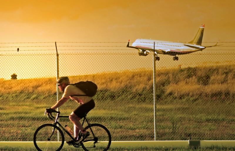 サイクルステーションがある空港