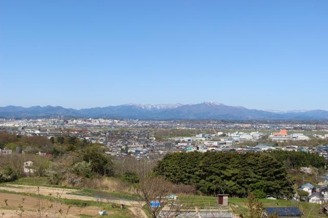 秋田の街並み