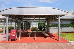 富山空港サイクルステーション