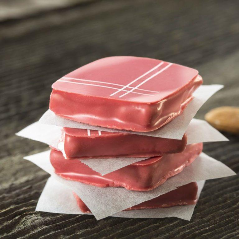 赤いハンカチのチョコレート