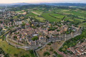 カルカッソンヌ城塞都市(Cité de Carcassonne )