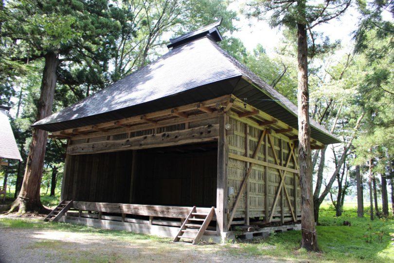 飯森神社 神楽殿