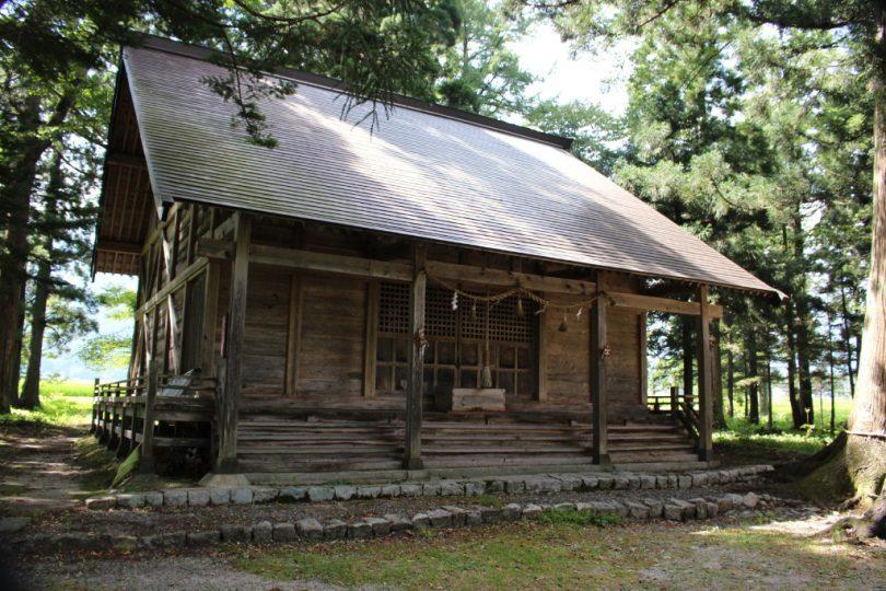 飯森神社 拝殿