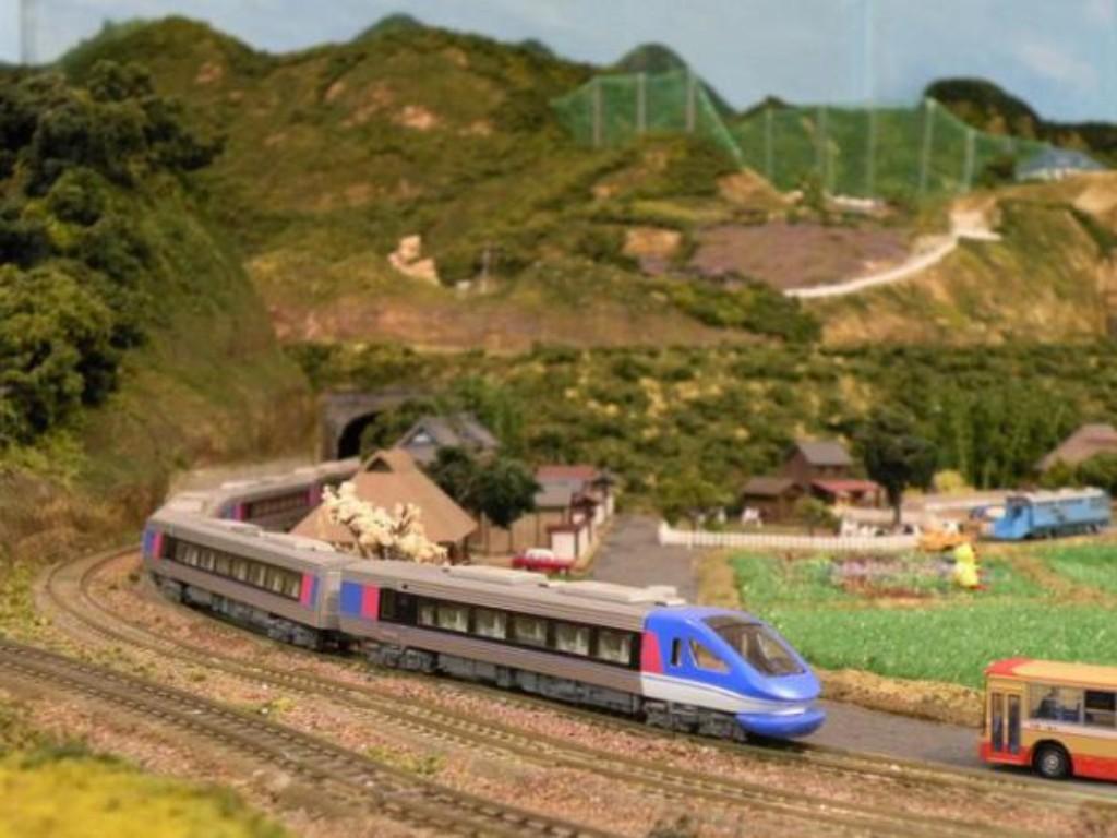 鉄道模型ジオラマ「いろり夢鉄道」