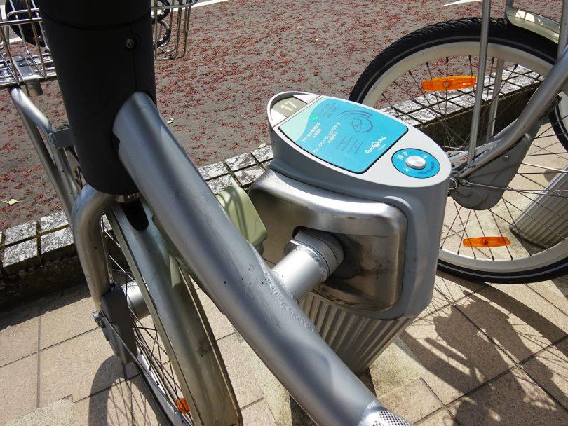 自転車の返却