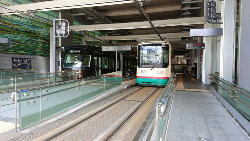 富山駅セントラム乗り口