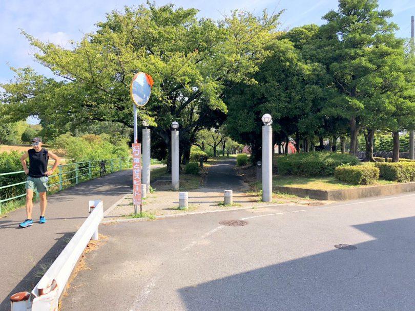庄内緑地公園入口