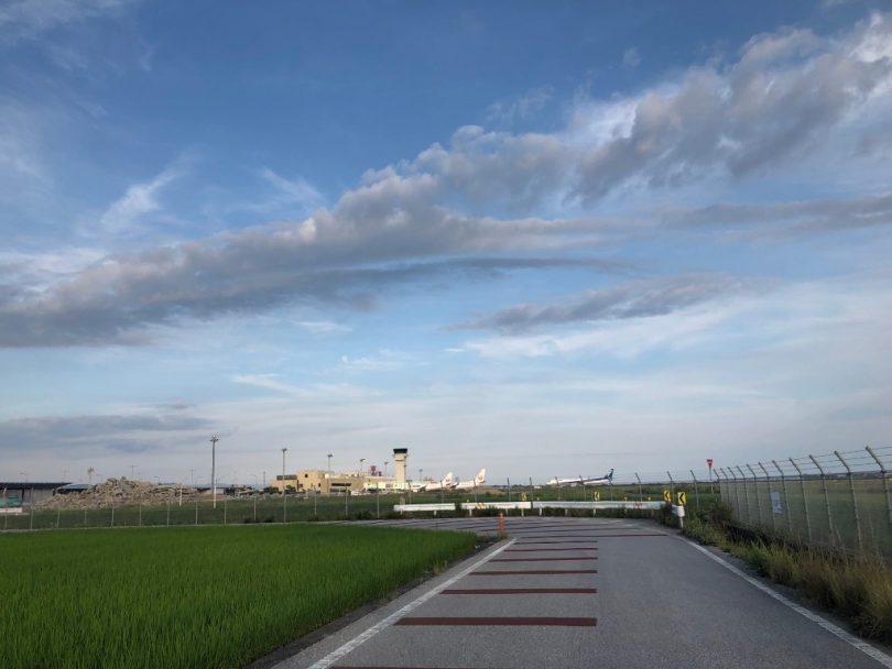 高知龍馬空港手前