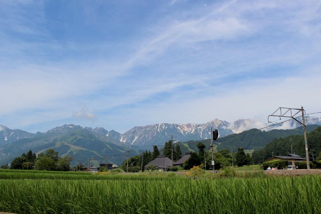白馬 田園風景