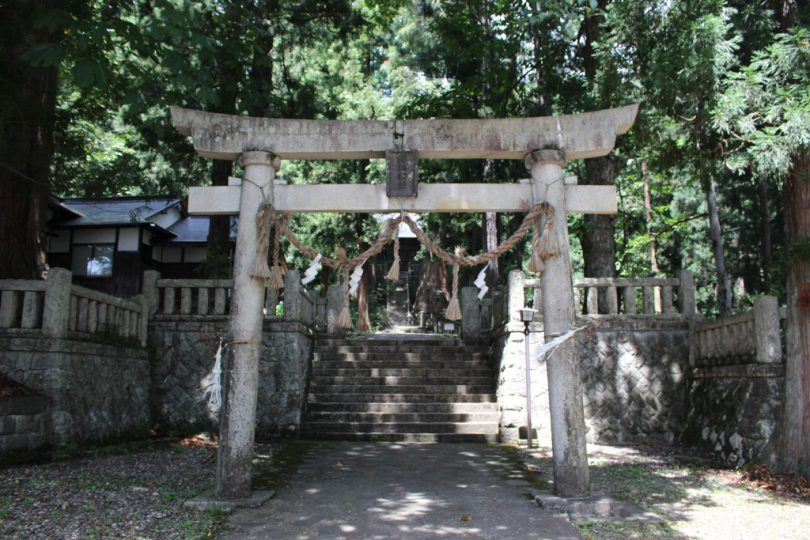 細野諏訪神社 鳥居