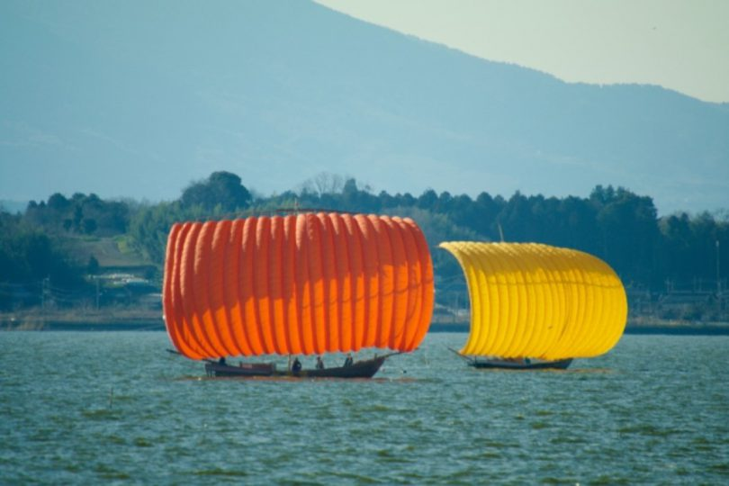 霞ヶ浦の帆船