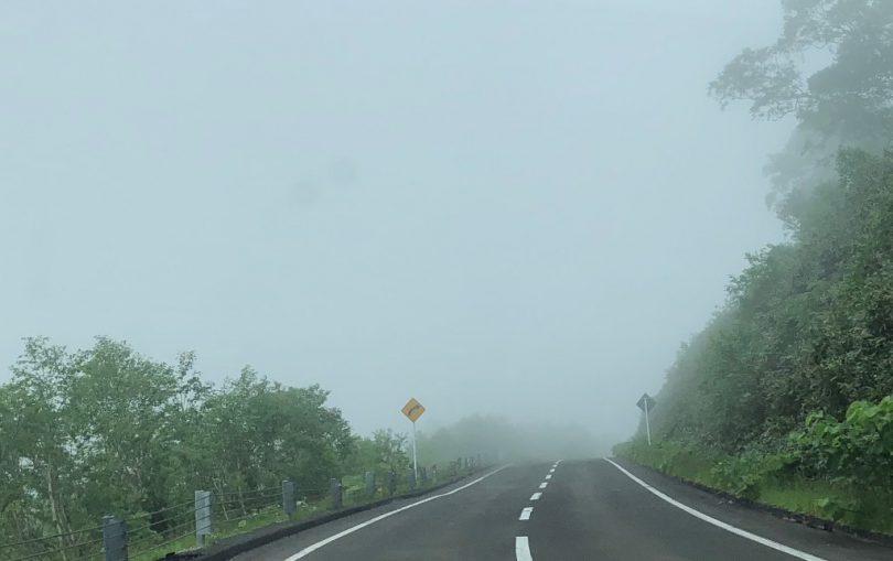 神仙沼の霧