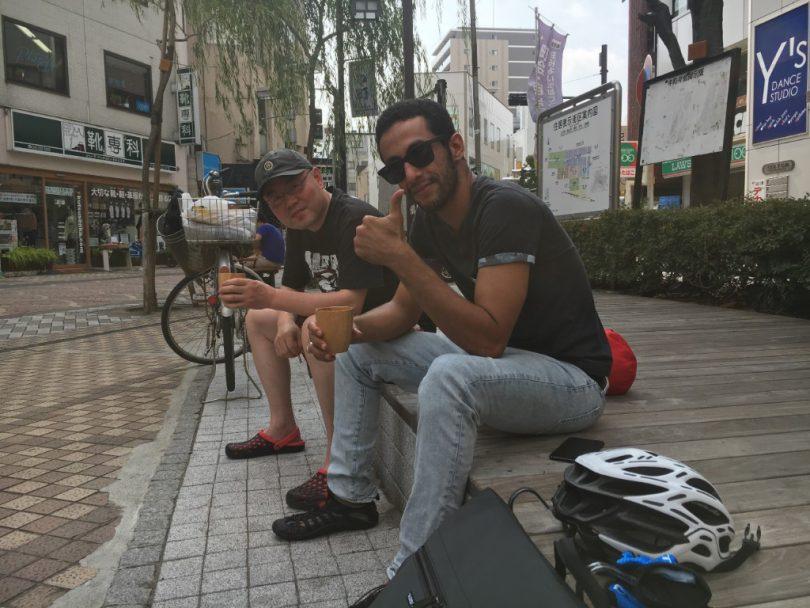 サウジアラビア人留学生と中国人のおじさん