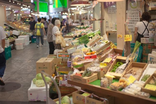 金沢の台所「近江町市場」