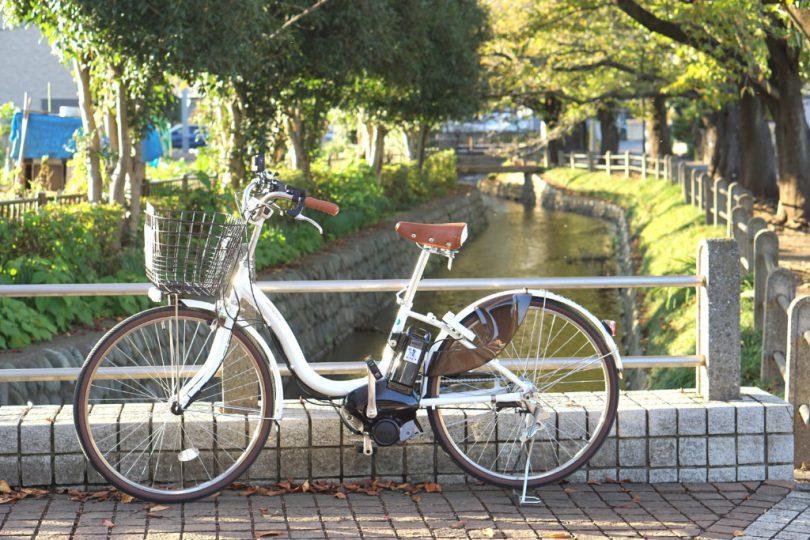 のりすけの自転車