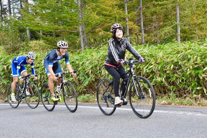 e-BIKE vs ロードバイク