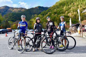 乗鞍サイクリングスタート