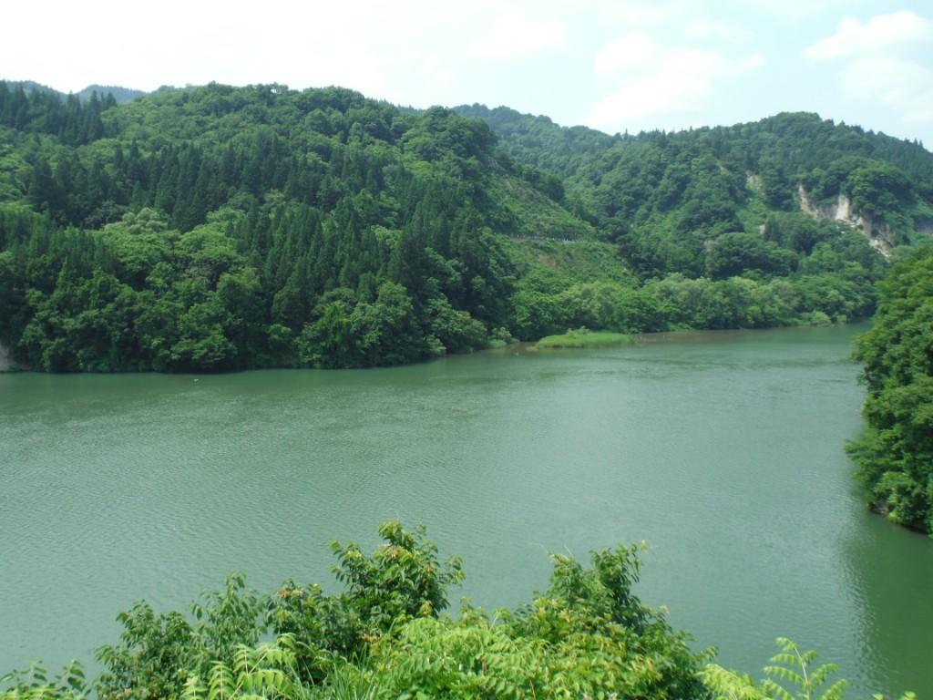 信濃川左岸