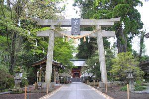 浅間神社×鳥居