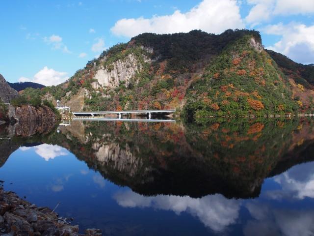 朝霧湖(大島ダム)