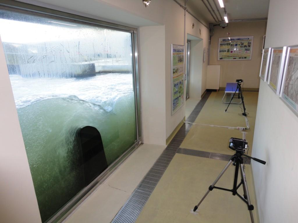 魚道観察室