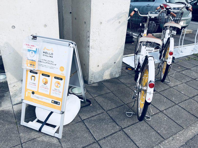 anabuki シェアバイク