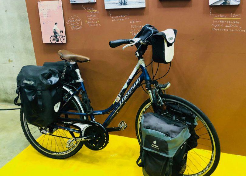 林さんが世界の旅に使用したバイク