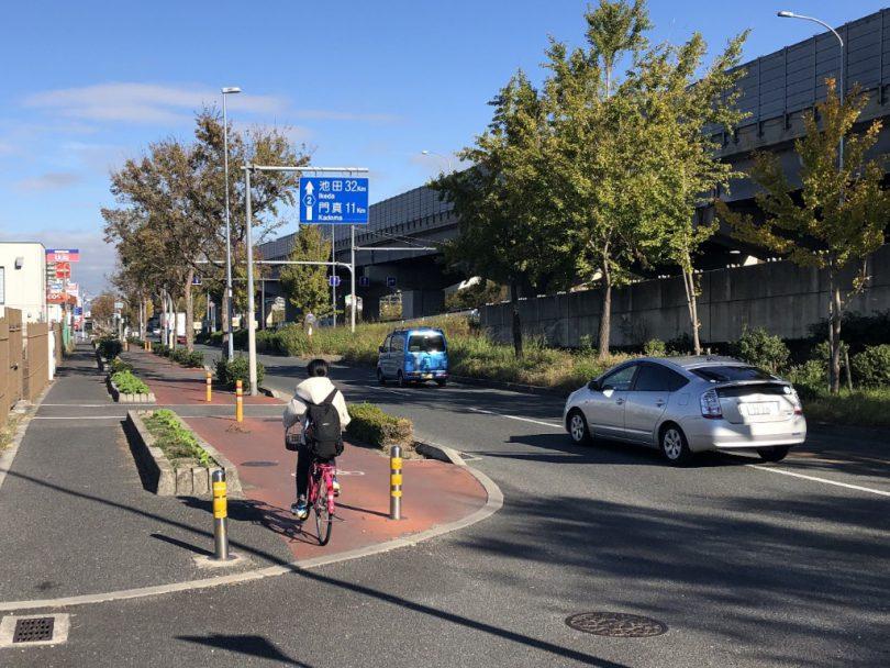 中央環状線の自転車道