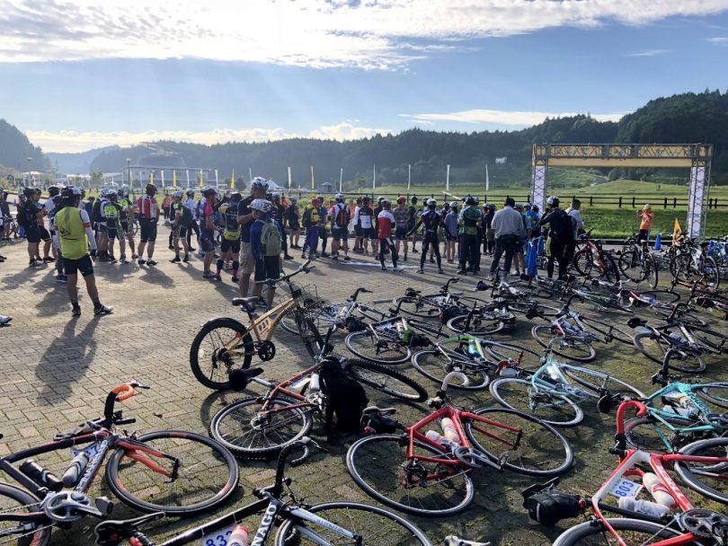 参加者の自転車