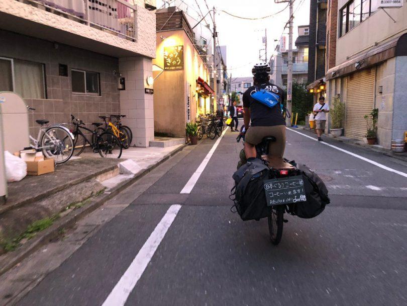 仙川へ自転車を走らせる