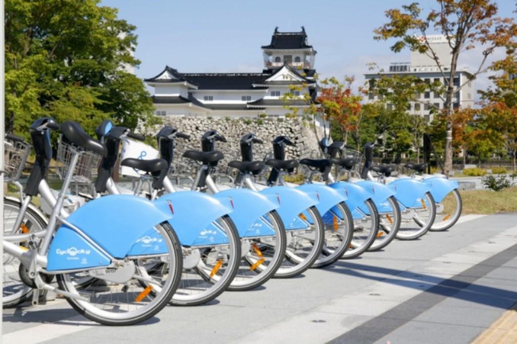 富山市のシェアサイクル「アヴィレ」
