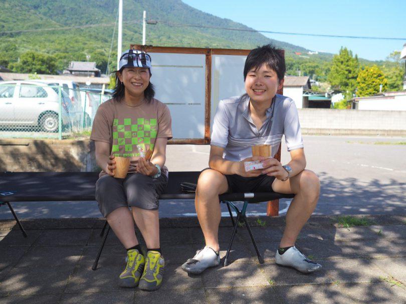 素敵なサイクリング&カフェを演出してくださった一美さんに、寛太さん。