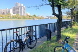 大川沿いの歩行者自転車道 2