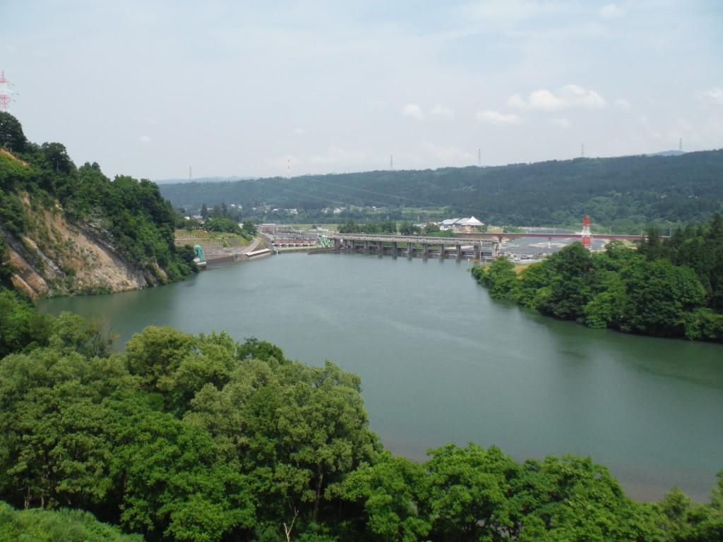 信濃川右岸
