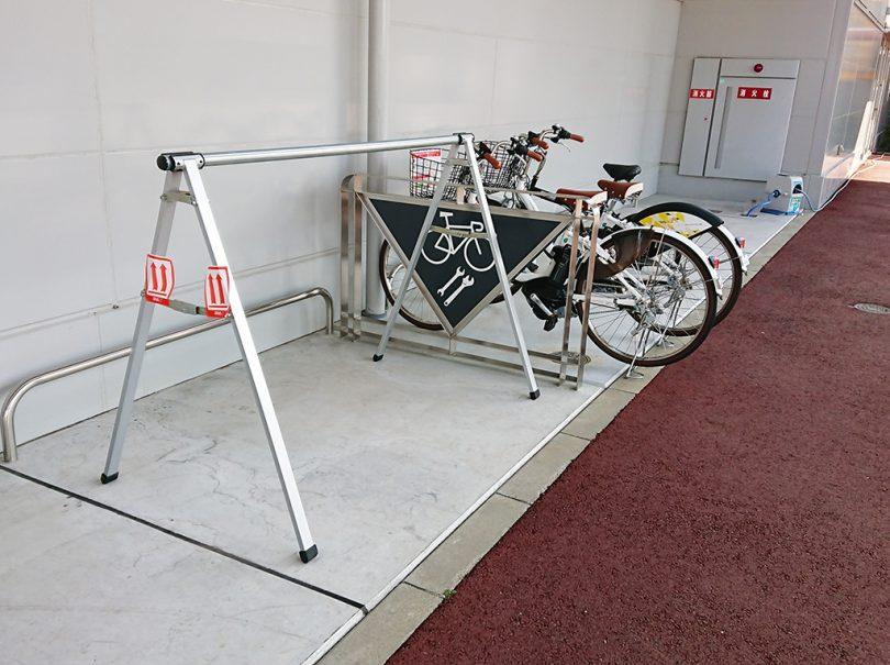 高松空港サイクルステーション
