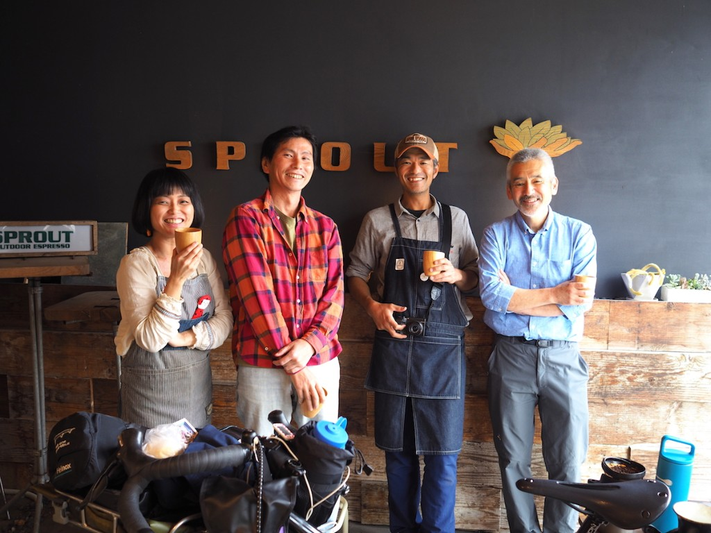 SPROUT OUTDOOR ESPRESSOの皆さん