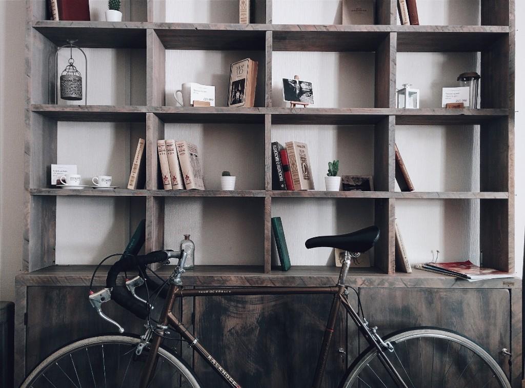 自転車と本