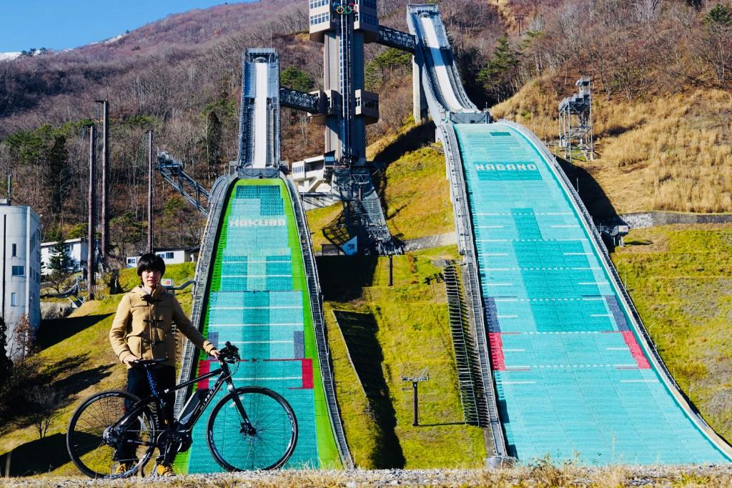 白馬スキージャンプ台