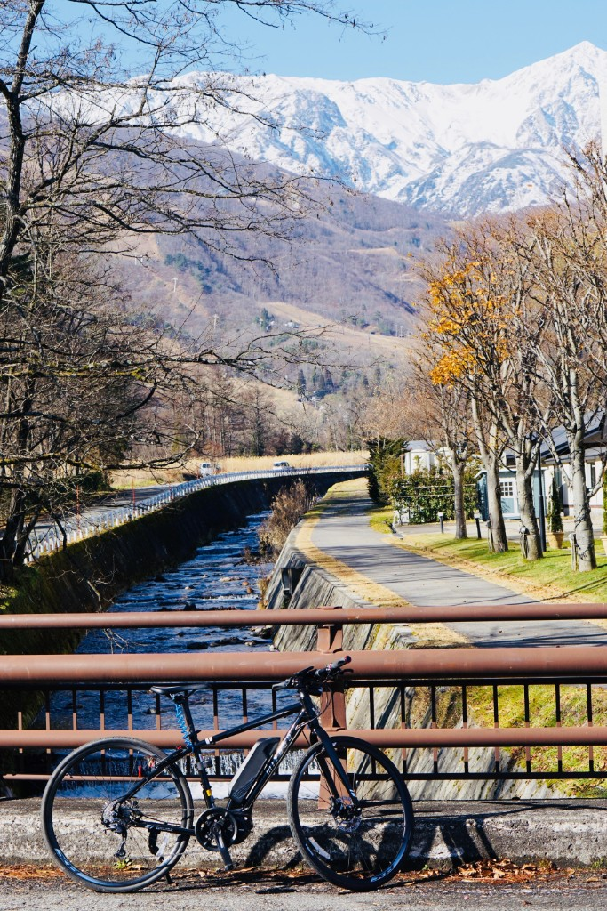 大脇川で記念撮影